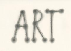 For The Art is a Way Project. Drawn with Charcoal (Elsita (Elsa Mora)) Tags: art illustration creativity design handmade contemporaryart letters charcoal font wordart artdesign elsamora artisaway artisawayproject