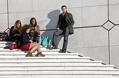 .multiracial (]babi]) Tags: street paris scale stairs smoke streetphotography guys ladefense smoking parigi fumo multiracial fumare ragazzi multirazziale stoleshot