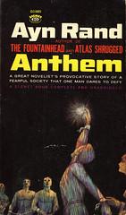 Signet Books D1985 - Ayn Rand - Anthem (swallace99) Tags: fiction vintage paperback signet philosophical objectivism