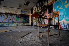 Disappointment: The Spring Garden School of Graffiti (Entropic Remnants) Tags: pictures urban philadelphia photography photo fuji image photos pics picture pic images photographs photograph fujifilm exploration remnants phila urbex entropic