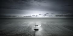 Deal (richard carter...) Tags: longexposure seascape clouds canon kent waves deal 1635 eos5dmk2