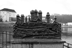 Passau (Kathrin Eckert) Tags: germany bayern deutschland bavaria batavia danube danuberiver passau donau niederbayern lowerbavaria dreiflssestadt ostbayern cityofthreerivers batavis easternbavaria
