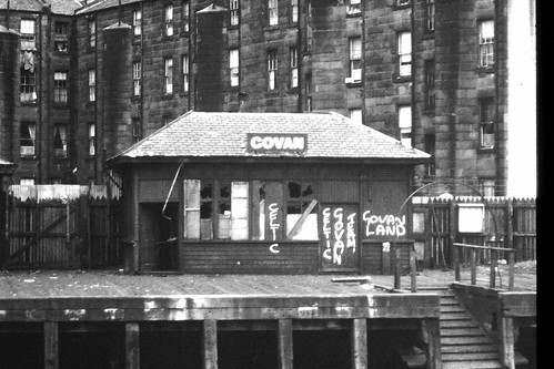 Govan ferry crossing point 1960s
