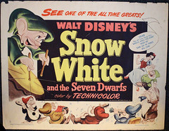 1952 Snow White Half Sheet (Filmic Light) Tags: disney movieposter snowwhite 1952 sevendwarfs halfsheet