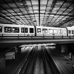 Flintholm Station (Tania Sonnenfeld) Tags: public station architecture train copenhagen metro transport tog arkitektur flintholm offentlig