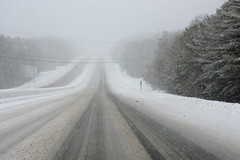 my ride to work yesterday (kimt15) Tags: winter snow ice nature weather driving newengland northeast drivingtowork winterconditions