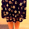 Swishy (davanita) Tags: flower 6x6 me dress legs swishy ip5 uploaded:by=flickrmobile colorvibefilter flickriosapp:filter=colorvibe