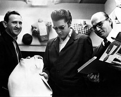 Elvis with the Lansky Brothers 1956 (Railroad Jack) Tags: