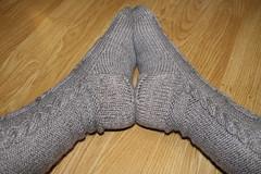 jibbi_socks (6) (martinivixen) Tags: socks knitting cables ravelry jibbi
