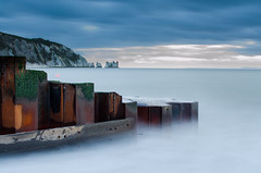 The needles 2 (Benjamin Woodford) Tags: longexposure sea seascape water seaside nikon le isleofwight needles iow d5100 nikond5100