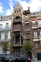 De Passer, Antwerpen (Erf-goed.be) Tags: geotagged antwerpen tolstraat burgerhuis archeonet architectenwoning geo:lat=512091 depasser jeanjacqueswinders geolon44017