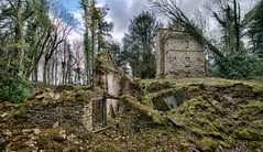Folly near Badminton (Matt Bigwood) Tags: house landscape nikon ruin badminton ultrawide hdr folly d800 14mm samyang oloneo hdrengine