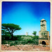 A Chimney Remaining From The Ruins Of A British Colonial House, Sheikh Town, Somaliland
