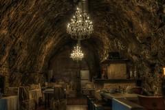 Cave (Luca Hacky) Tags: cave ristorante hdr urbex tavoli gallleria