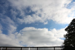 little gaps (Rodrigo Alceu Baliza) Tags: bridge sky cloud pattern little gap