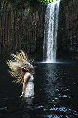Fall (haileymoore07) Tags: wild selfportrait fall water oregon hair portland waterfall falls abiqua