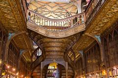 Livraria chardon (nuts9000) Tags: portugal porto escalier librairie