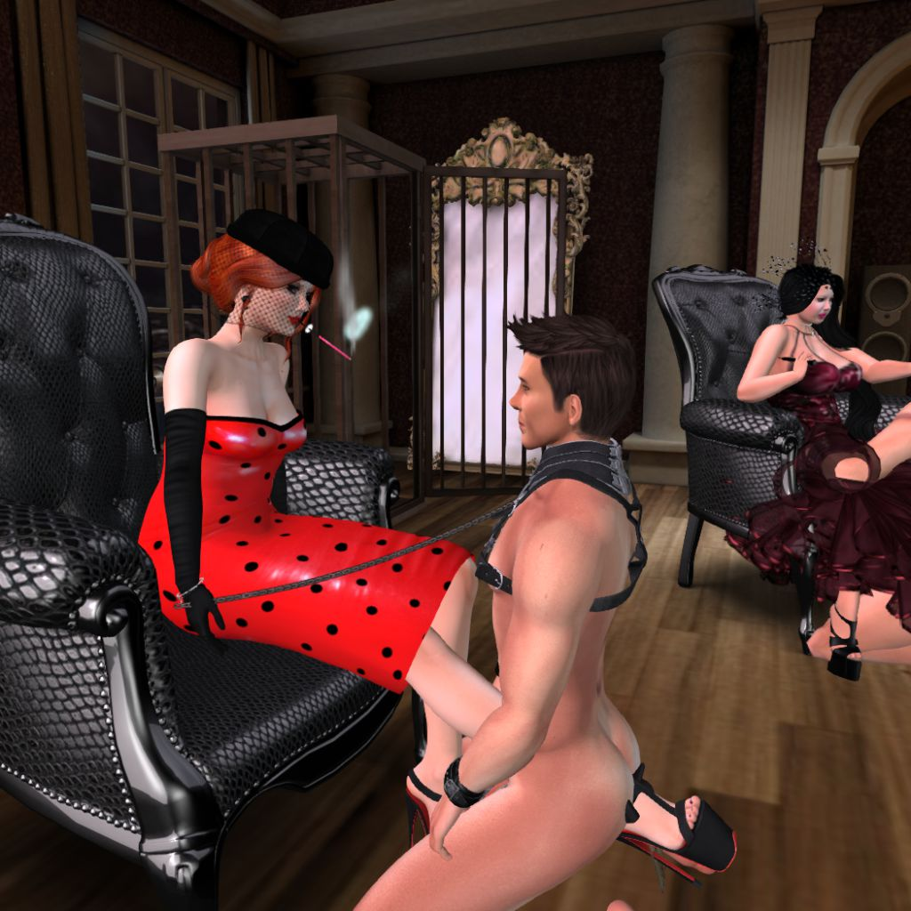 Dominion Femdom Play Party July  Dominion Femdom Tags Fetish Bdsm Secondlife Kinky