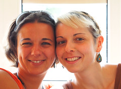 Maria & Kati (arjuna_zbycho) Tags: portrait people girl smile face women gesicht frau portret kathi portre lcheln katerina twarz kobieta umiech