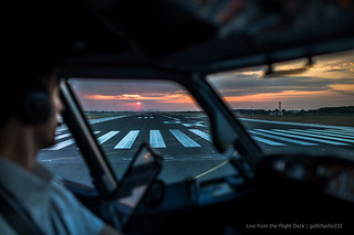 Sunrise take-off