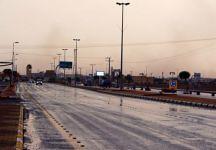 امطار متفرقة على عقلة الصقور والرياح تقطع التيار الكهربائي (oqlanews) Tags: صور اخبار القصيم الصقور عقلة