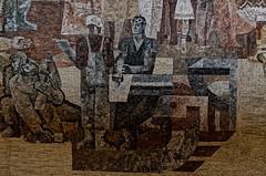 _DSC0031_cw (Wylf) Tags: soviet urss mozaika mosaic urbex cold war youri gagarine ussr hero urbexu history old