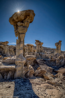 Alien Throne in the  Valley of Dreams