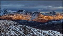 First Light on The Mamores