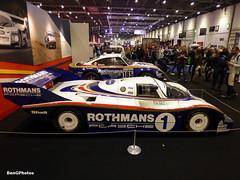 Rothmans Porsche (BenGPhotos) Tags: 2017 london classic car show excel jacky ickx celebration rothmans porsche 956 groupc flat6 prototype 956001 german 959 paris dakar rally 1980s legend legendary autosport motorsport race racing cars