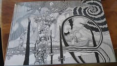 Art Drawing Ink Abstract Surreal Fantasy Trees DeadTrees Fineline Unipen Circles Lines Artwork (christopherricciuti) Tags: art artwork surrealism abstract drawing circles lines ink inkart fantasy