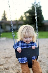 play time (coral staley-hall) Tags: canon 35mm 14l 35l toddler swing park sunset babyboy 6d fullframe bokeh blur