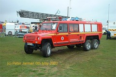 W999 FSV (PeterJarman2001) Tags: 6x6 airport vehicles peterborough firefly tender airfield specialist truckfest fsv gamston w999