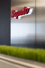 Saputo Sign 1 (interprisedesign) Tags: modern design office interior lobby business signage interiordesign conferenceroom receptionarea saputo interprise