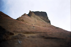 (andybokanev) Tags: film oregon 35mm northwest bend hiking climbing smithrock monkeyface canonat1 ektar100 campvibes