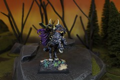 Warriors of Chaos Archaon (Blue Table Painting) Tags: chaos vampire warhammer