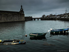 One, two, three... (Sergi Wave) Tags: two france port pen boats one three bed brittany fuji ar wave bretagne concarneau fujifilm sergi x20 barques finistre kerne konk 2013 konkkerne