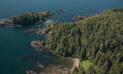 20130506D8E_3207 (cisco42) Tags: ocean trees summer canada sunshine forest coast britishcolumbia shoreline rocky vancouverisland northamerica saltwater lightstation2013