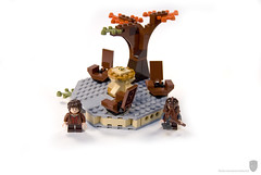 Lord of the Rings 79006 The Council of Elrond (porschecm2) Tags: arch lego gothic review lord rings council arwen elrond 79006