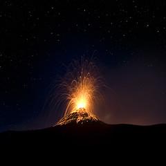 . (emanumela) Tags: nightshot sicilia eolie stromboli isoleeolie ginostra eruzione emanumela
