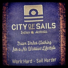 City of Sails (photographer Hans Wessberg) Tags: fashion se sweden label sydney australia sverige brand workwear leisurewear cityofsails shoppinggalleria sailingclothes instagram hanswessberg