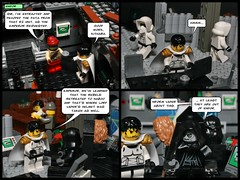 130615 Helmet chase (--== Part 2/5 ==--) (Lost Trooper) Tags: palpatine lego cartoon bunker emperor endor scouttrooper 2013