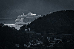 Bon Voyage (Pepilino) Tags: cruise travelling norway port boat norge alesund
