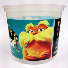 4 |  |  | CMYK Screen Printing Popcorn Bucket Lorax (HK Printing) Tags: wood pet cup promotion metal pen design pc bucket bottle factory quality pad silk free ps screen plastic pa printing pe abs premium pvc pp nontoxic  worldclass cmyk ontime valueadded babyfeed foodcontainer  heavyindustrial  2                        4