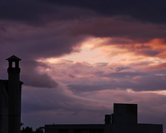 (ubik7002) Tags: sunset sky clouds dusk athens greece