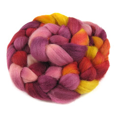 Fierce and Flawless - Corriedale (Into The Whirled) Tags: wool silk merino spinning fiber bfl itw masham intothewhirled