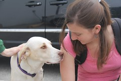 "Anne and the dog • <a style=""font-size:0.8em;"" href=""http://www.flickr.com/photos/27717602@N03/9091909901/"" target=""_blank"">View on Flickr</a>"