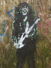 Rory Gallagher by Vincent Zara (Canvassing Cork) Tags: street blue ireland urban streetart green art graffiti washington stencil cork vincent olympus rory urbanart gallagher guitarist zara rorygallagher 1454 e410 vincentzara canvassingcork