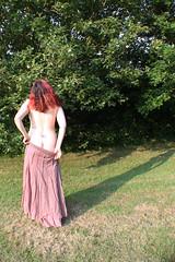 186/365 (Esme on Plum Island) Tags: outside topless greenery halfnaked day186 femaleform 365days jfdif