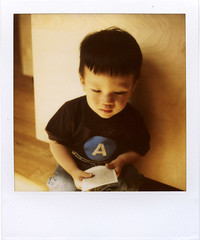 A 2010 (davebias) Tags: nyc film polaroid sx70 600 roidweek impossibleprojectspace