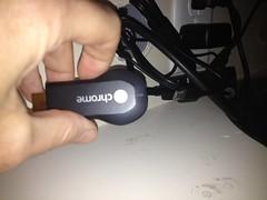 Chromecast is active